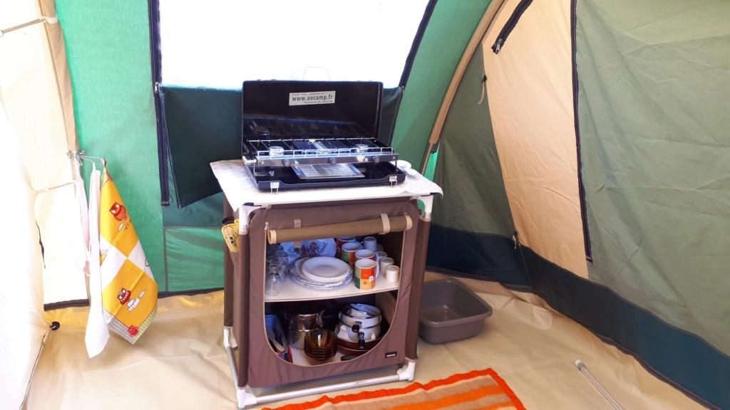 Camp'toile la tente locative de l'association Meuble17