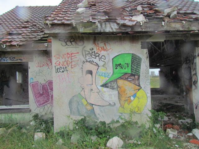 PIROU PLAGE le village fantôme dans la manche Img_0011