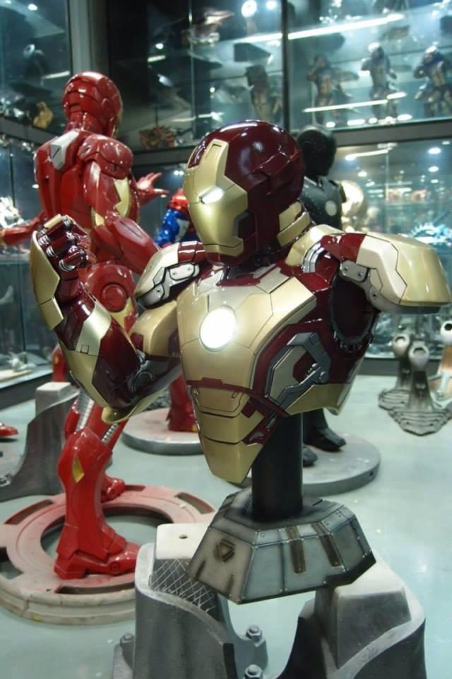 IRON MAN MARK VI Legendary scale bust - Page 6 17792610