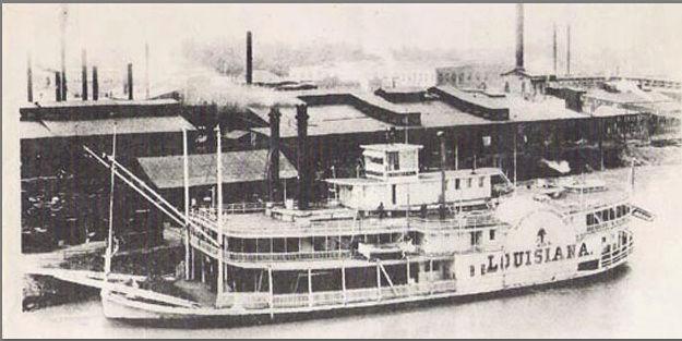 Le Marieville mississipi boat au 1/50° sur plan  - Page 3 Louisi11
