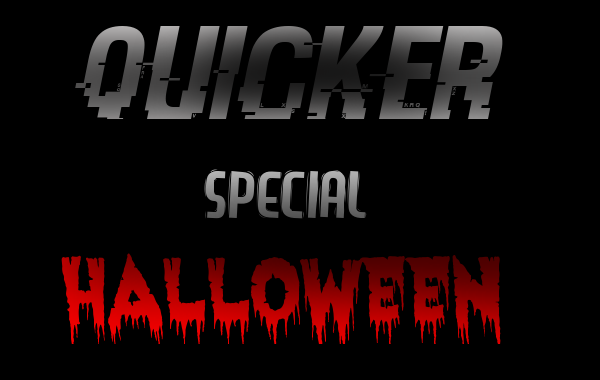 QUICKER - SPECIAL HALLOWEEN Quicke10