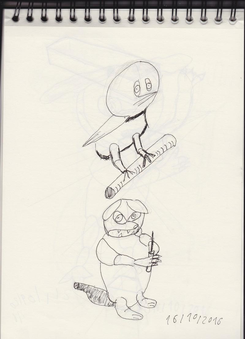 Exercice Etude, Croquis (Math) Bird10
