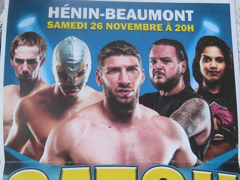 Gala Handi'catch ICWA à Henin Beaumont le 26 novembre 2016 11994011