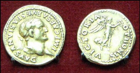 Jeu :identifions des monnaies retrouvées à Pompéi Victor10