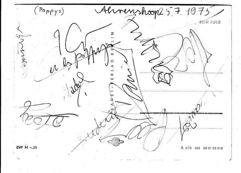 autographe 1975 Autogr10