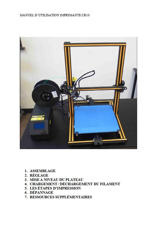 Imprimante 3D Créality CR10S - Présentation & upgrades Cr10sm10