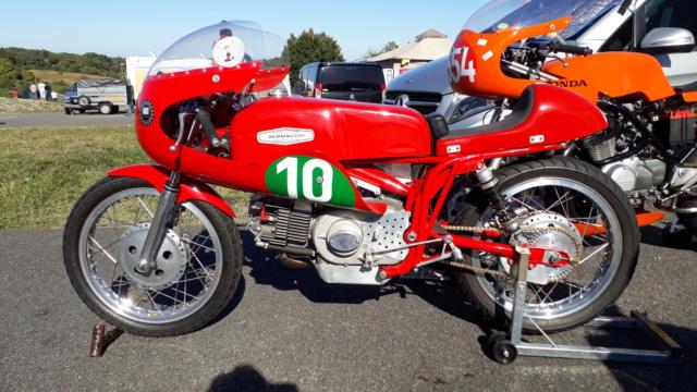 Arnos (64) - Finales Championnat de France vitesse Motos anciennes 20190930