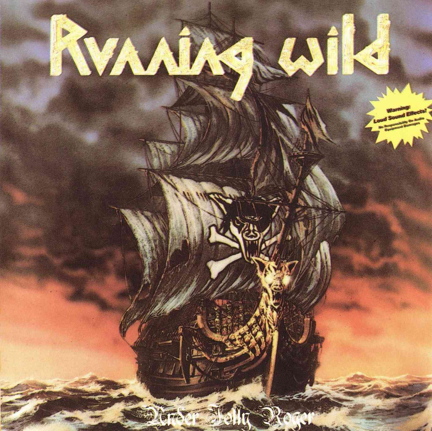 RUNNING WILD Under Jolly Rodger (1987)  Folder10