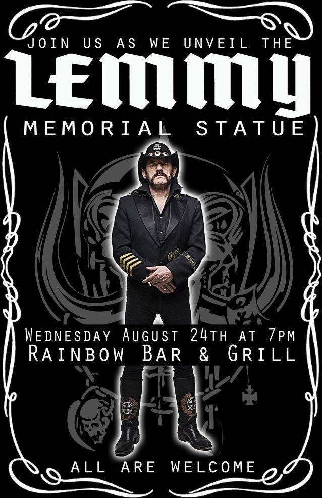 La statue hommage de LEMMY dévoilée ... Lemmym10
