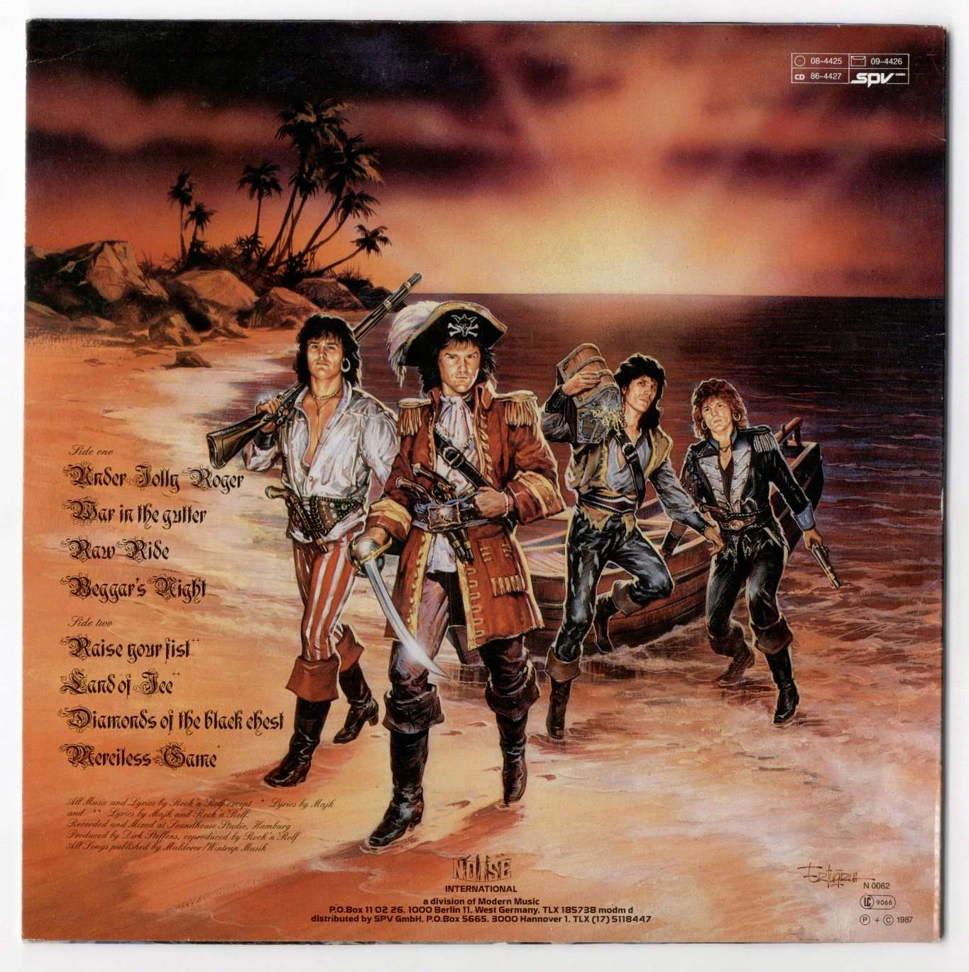 RUNNING WILD Under Jolly Rodger (1987)  Runnin10