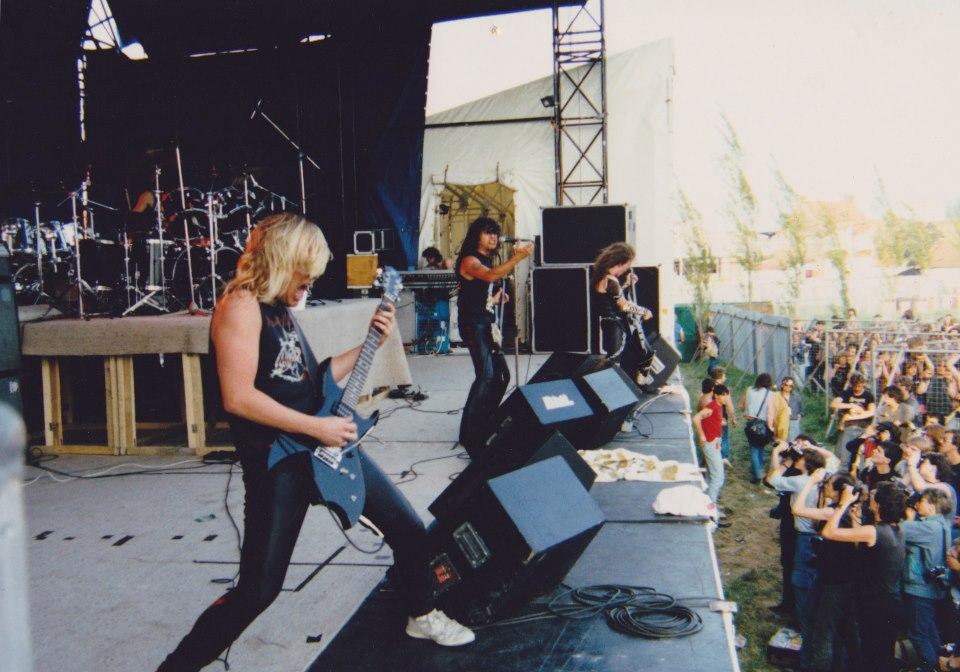 SLAYER pour la première fois en Europe (Belgique) le 26 Mai 1985 Slayer10