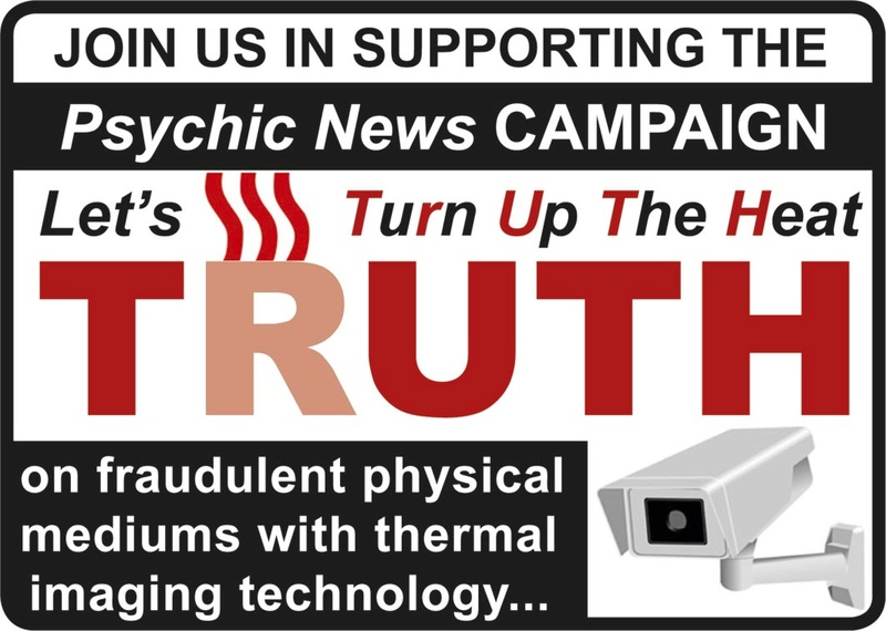 Psychic News TRUTH campaign to end fraud in physical mediums Truth-10