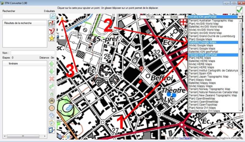 [Résolu] Carte ign 25 sur Google Earth Bethun10