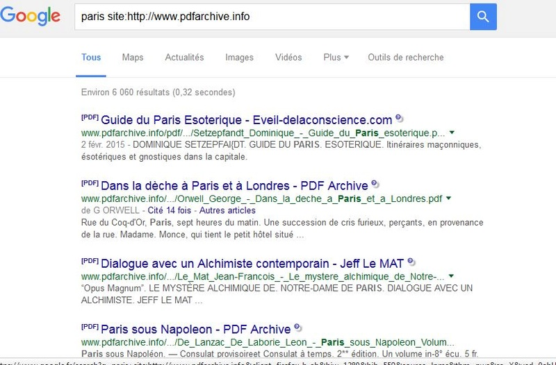 La Bibliothèque de PDF Archives Biblio14