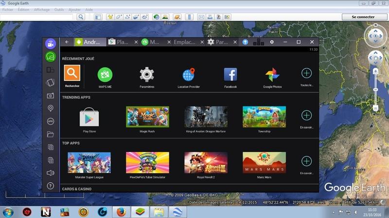 Bluestacks : toutes les fonctions Android sur PC Blue110