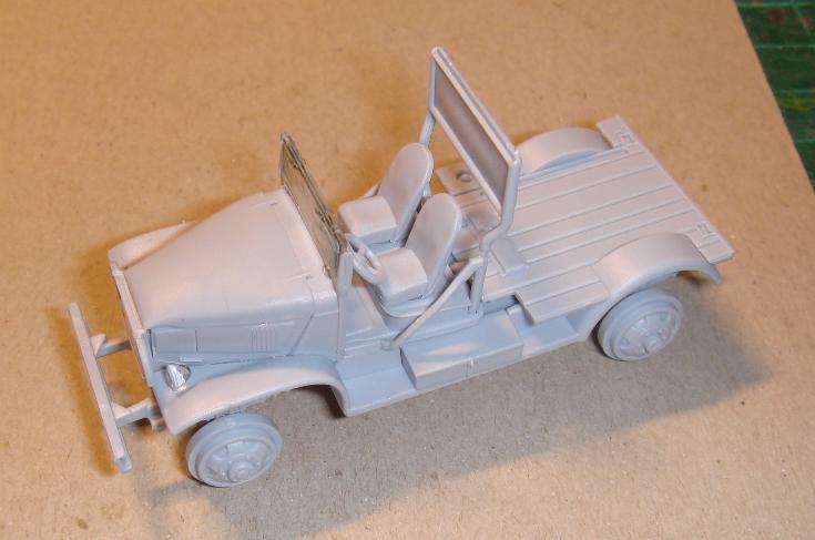 Autocar + Chevrolet Airfix 1/72 Autoca17