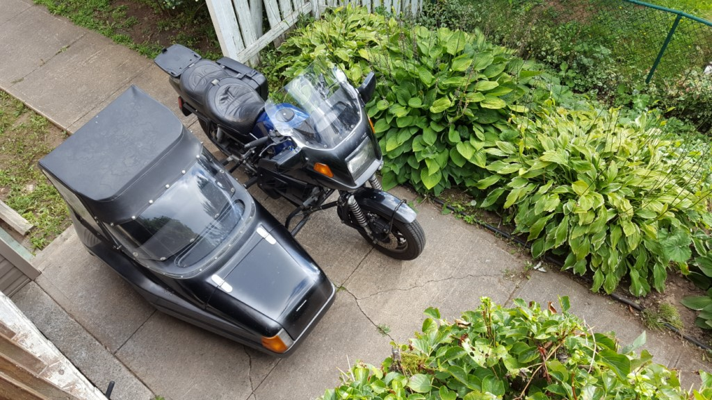 And yet one more K75 and sidecar 20160928