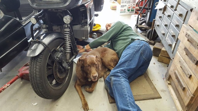 Installing new clutch cable K1100RS advice Ella10