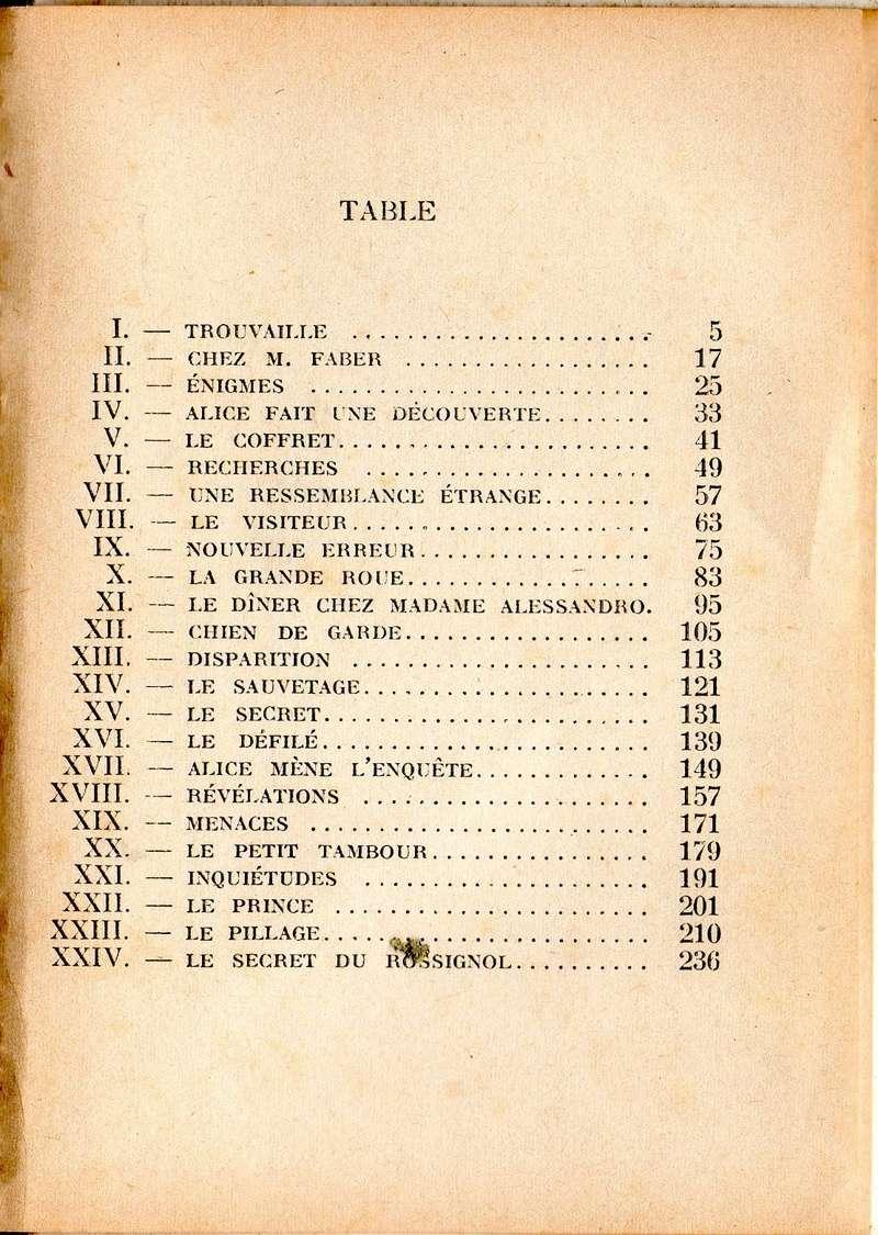 Recherches sur les anciennes éditions d'Alice (Titres 16 à 30)  16alic11