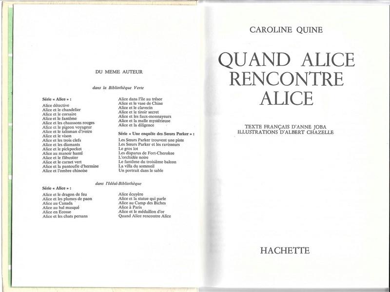 Recherches sur les anciennes éditions d'Alice (Titres 31 à 45) 34alic12