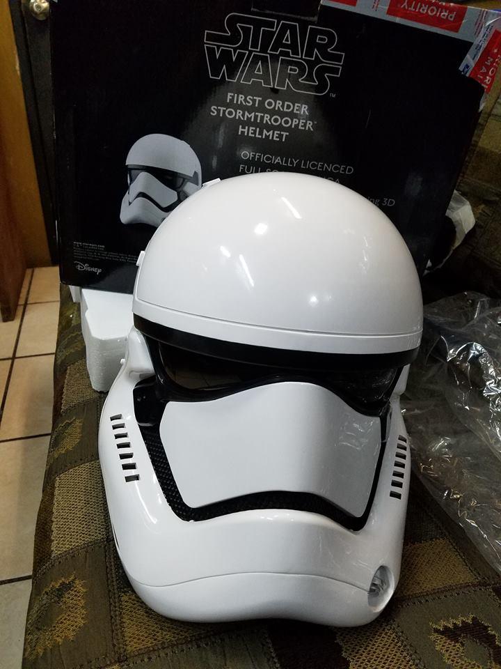ANOVOS STAR WARS : First Order Stormtrooper Helmet 14329910