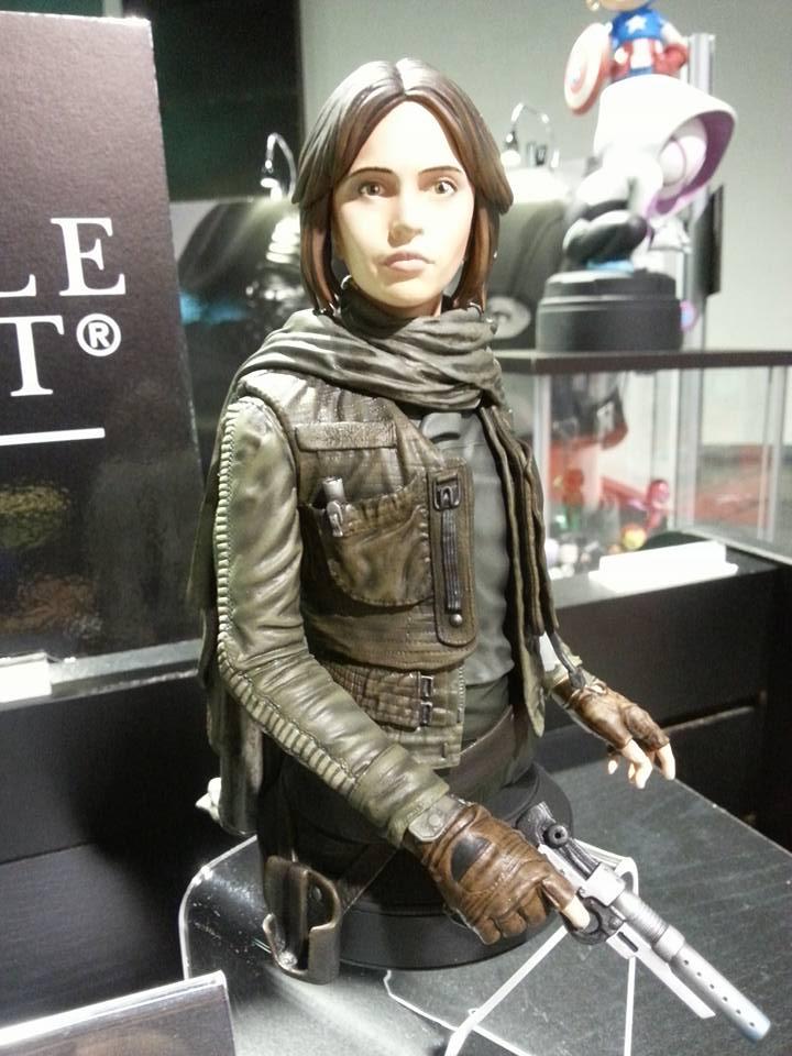 Gentle Giant -  Star Wars Rogue One Jyn Erso Mini Bust 14358710