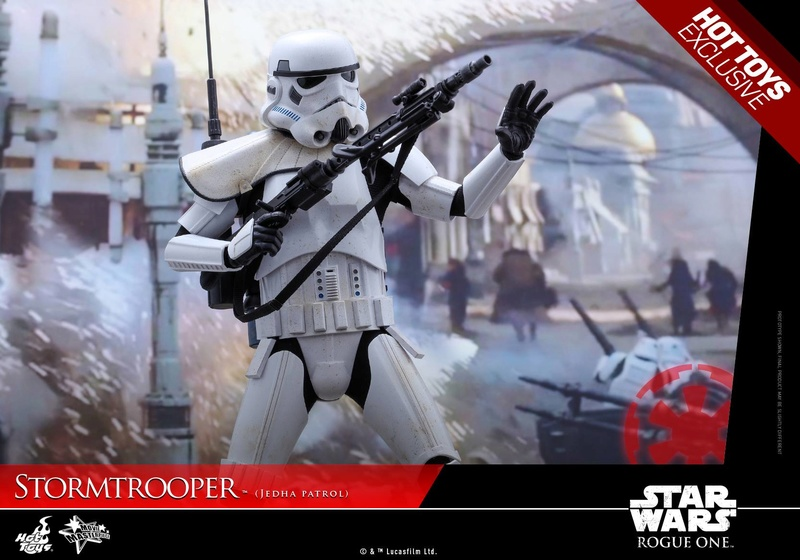 Hot Toys Rogue One - 1/6th Stormtrooper Jedha Patrol exclu 14380010