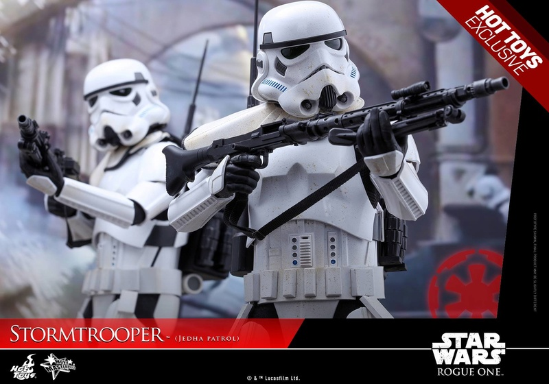 Hot Toys Rogue One - 1/6th Stormtrooper Jedha Patrol exclu 14435310