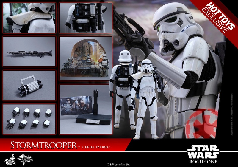 Hot Toys Rogue One - 1/6th Stormtrooper Jedha Patrol exclu 14444810