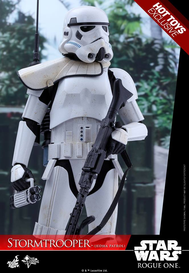 Hot Toys Rogue One - 1/6th Stormtrooper Jedha Patrol exclu 14449011