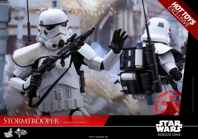 Hot Toys Rogue One - 1/6th Stormtrooper Jedha Patrol exclu 14468310
