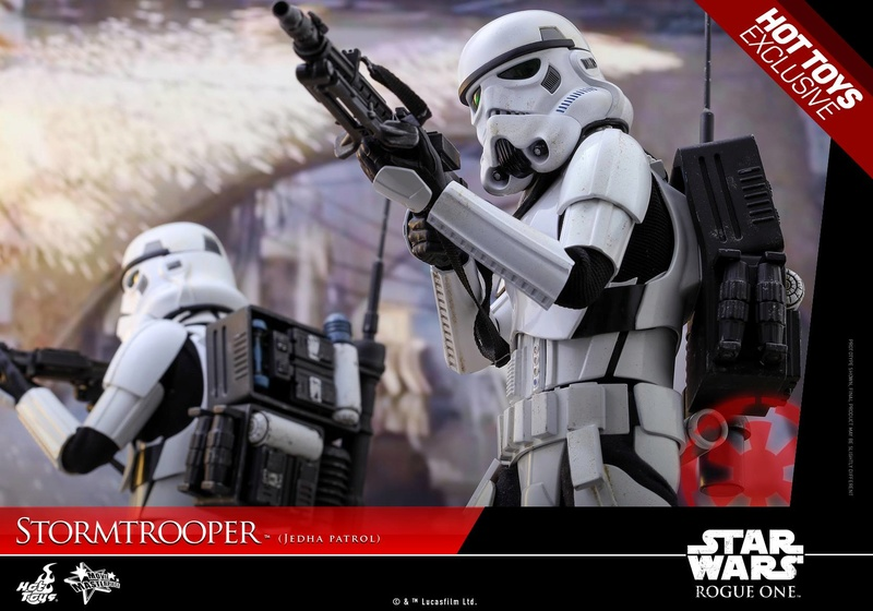 Hot Toys Rogue One - 1/6th Stormtrooper Jedha Patrol exclu 14468511