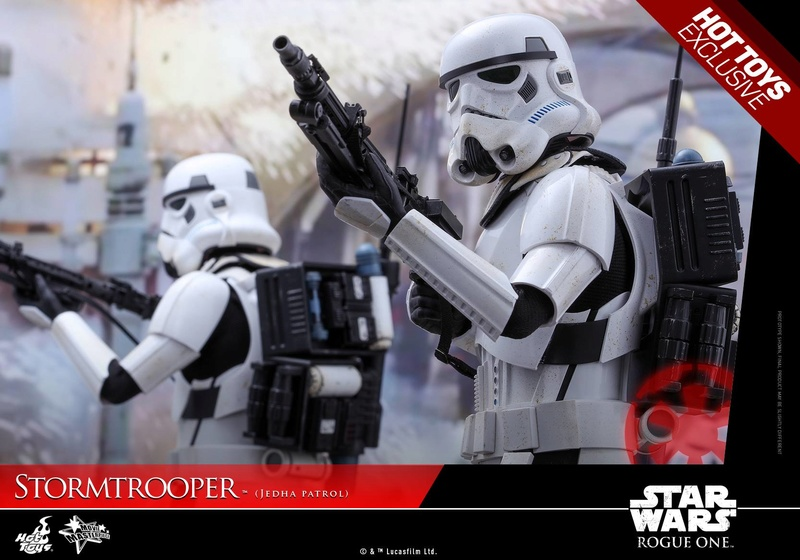 Hot Toys Rogue One - 1/6th Stormtrooper Jedha Patrol exclu 14480510