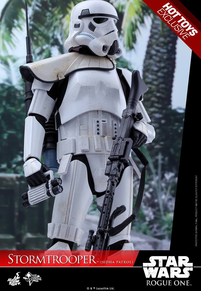 Hot Toys Rogue One - 1/6th Stormtrooper Jedha Patrol exclu 14519710