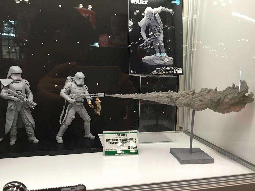 Kotobukiya Star Wars -Snowtrooper Flametrooper ArtFX Statue 14608810