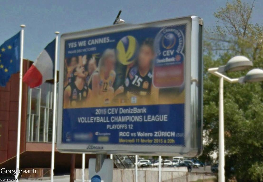 Géographie de la Ligue A Féminine de volley-ball (France) Cannes10