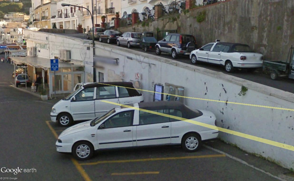 STREET VIEW : les taxis de Capri Capri_10
