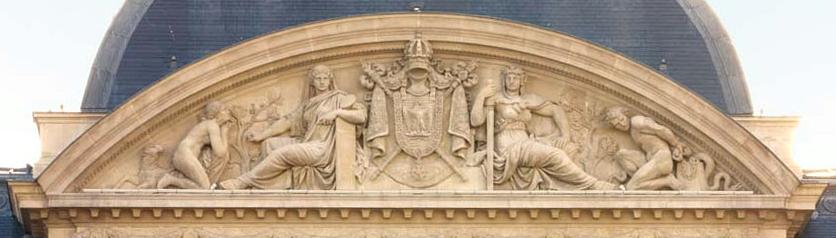 ARCHITECTURE : les frontons racontent une histoire Courde13