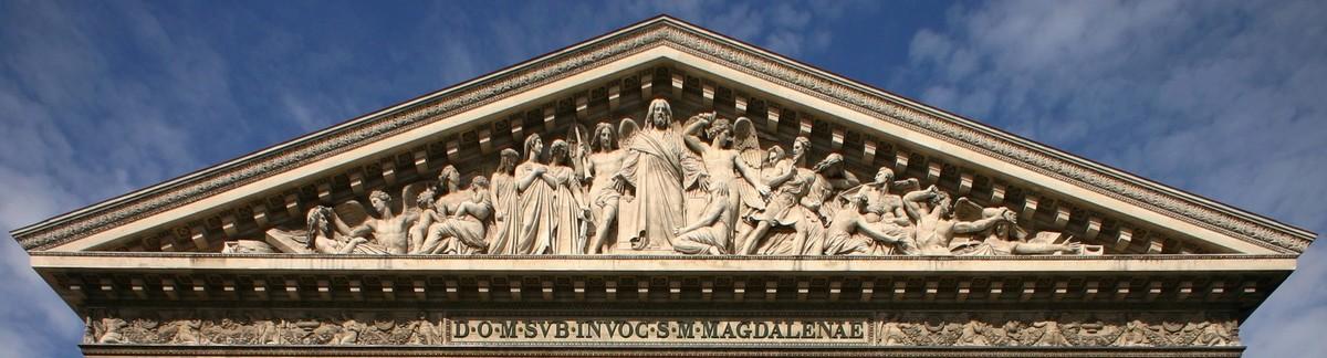 ARCHITECTURE : les frontons racontent une histoire Eglise10