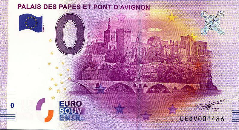 Billets 0 € Souvenirs  [SUD = 62] Avigno10