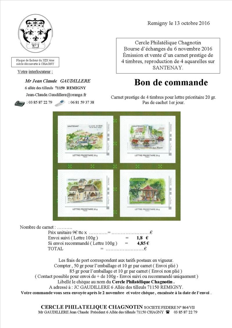 21 - Santenay-les-Bains  Bon_de10
