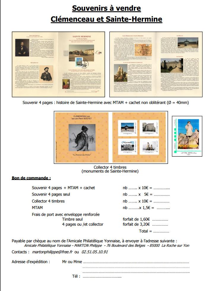 85 - La Roche-sur -Yon - Association Philatélique Yonnaise Feuill10