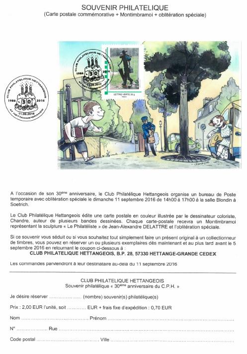 57 - Hettange-Grande - Club philatélique Hettangeois Hettan10