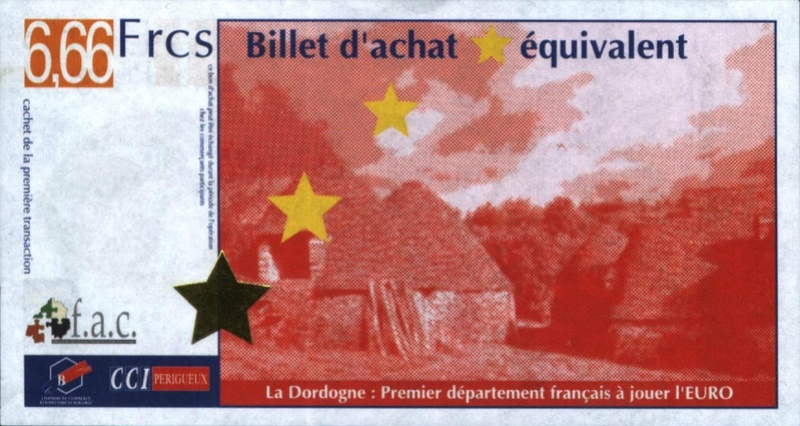 Premiers billets en Ecu/Euro Perigo10