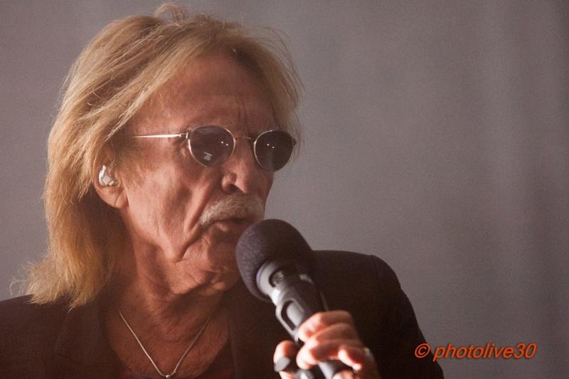 Vu : éternel Christophe sur la scène de Paloma à Nîmes Christ19