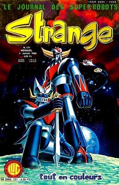 Les mangas de Go Nagai chez Black Box Strang11