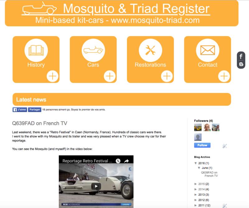 Mosquito (kit-car à 3 roues sur base Mini) - Page 2 Captur10