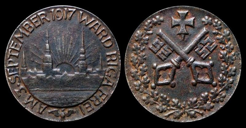 Médaille argent Ville de BREME / Allemagne 1917_r10