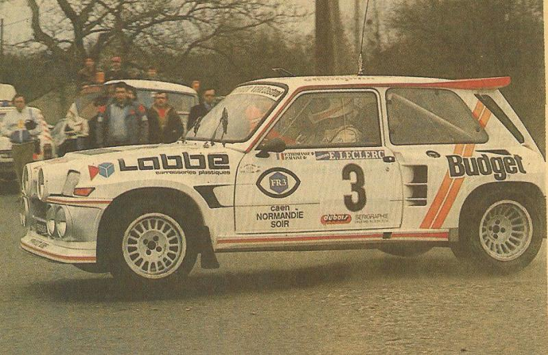 Renault 5 Maxi Philippe Touren au Rally Ypres 1986 19862010