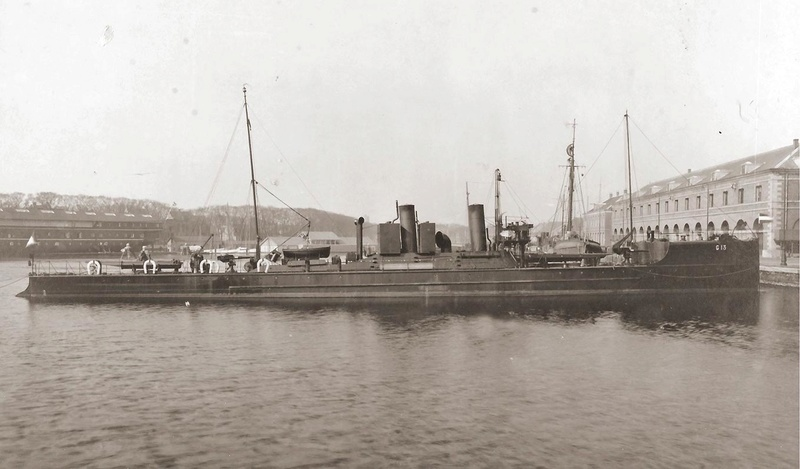 Ostende port militaire G1310
